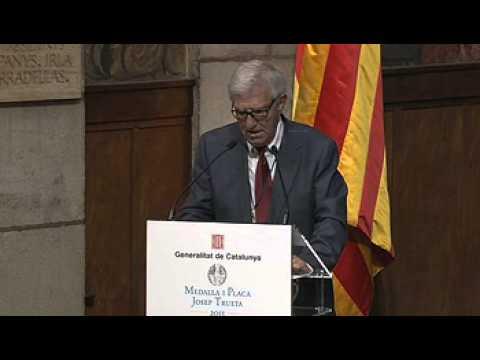 Lliurament de les Medalles i Plaques Josep Trueta al mèrit sanitari (02.10.2013)