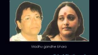 madhu gandhe bhara rabindrasangeet shibaji chattopadhyay and arundhati holme chowdhury