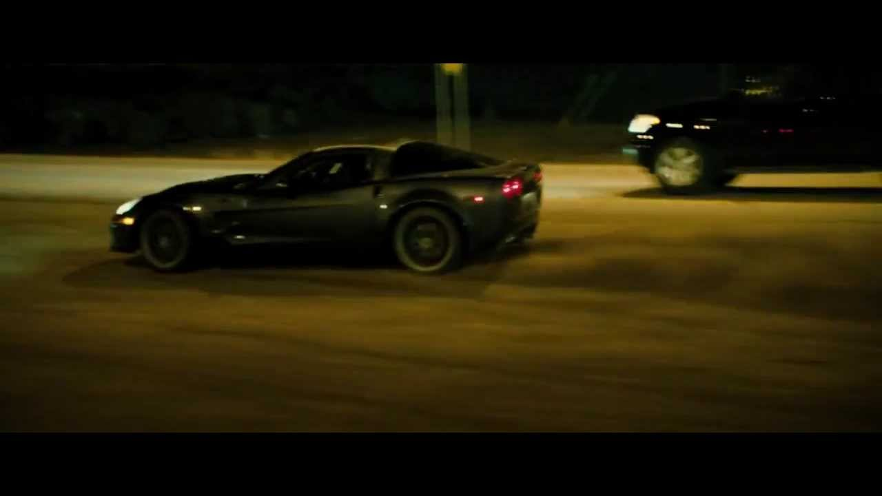 Corvette Roaring In The Movie The Last Stand Youtube