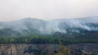 Lightning strikes spark new B.C. wildfires