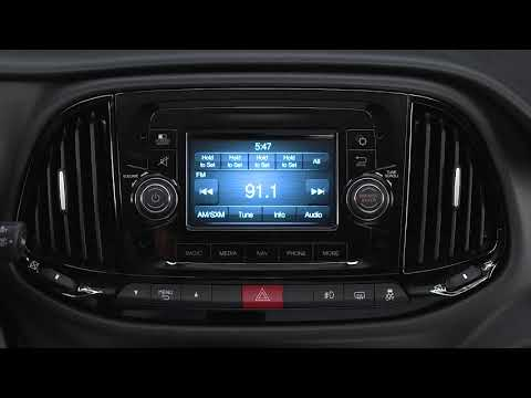 Instrument Cluster Display-Digital Dashboard On The Car Instrument Panel Of 2018 Ram ProMaster City