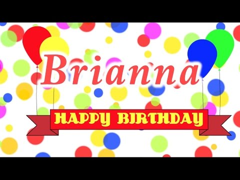 Happy Birthday Brianna Song