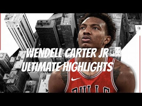 """Wendell Carter Jr Ultimate Highlights — WELCOME TO CHICAGO    """"Love Sosa"""""""