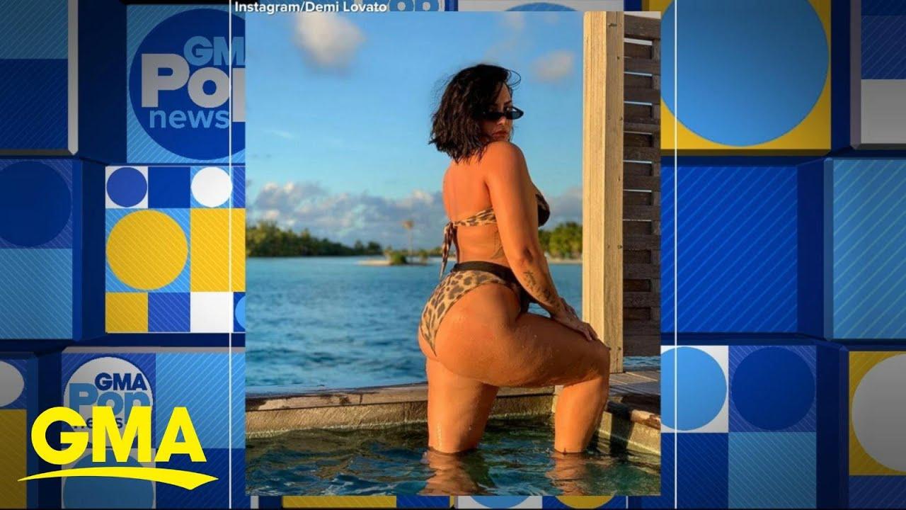 Demi Lovato posts 'biggest fear' image of cellulite