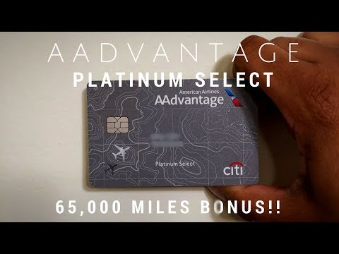 AAdvantage Platinum Select Card: Is This 60,000 Miles Bonus Worth It?