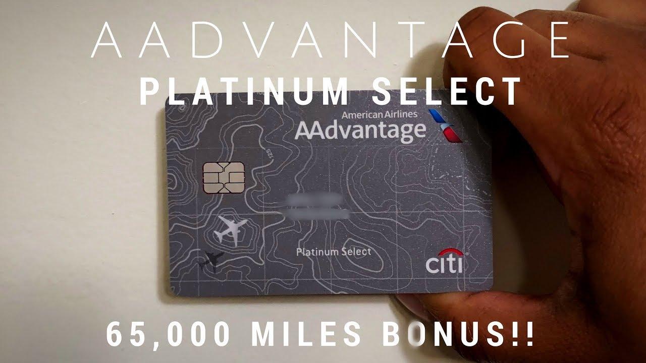 AAdvantage Platinum Select card: Is this 7,7 miles bonus worth it?