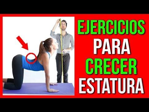 ejercicios para crecer de estatura y bajar de peso