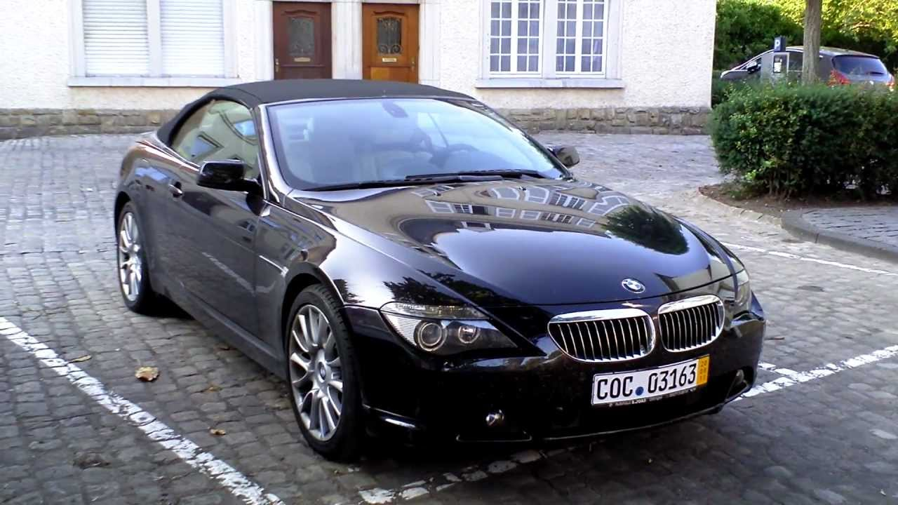 BMW M Cabrio Spotted HD P YouTube - 2011 bmw m6