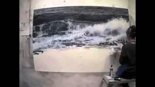 Fait une vague dessin a la main
