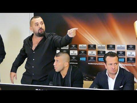 Eubank Jr. vs Yildirim Press Conference 🔴 Best Of Highlights   Ahmet Öner
