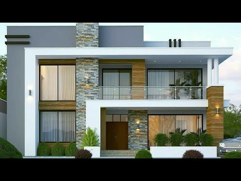 50 Small House Front Elevation Design Ideas 2021 Exterior Wall Decorating Ideas Youtube