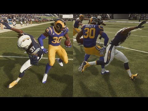 Madden 19 Career - Gurley's Juking! 100+ Rushing Yards!
