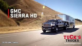 Tucks Trucks GMC 2018 Sierra HD Tow/Haul