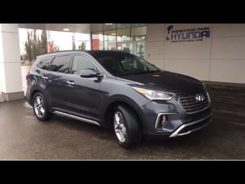 2017 Hyundai Santa Fe Xl Limited In Depth Walk Around Sherwood Park Hyundai Youtube