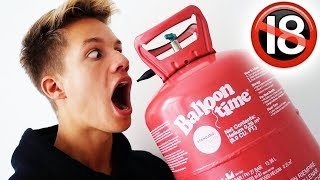 Ich atme zum 1. Mal Helium ... 🔞😱