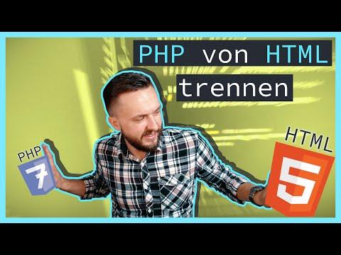 PHP Tutorial | Erstellen Einer Template Engine In PHP [Part 1]