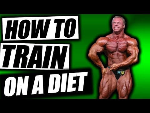 How To Train While On a Diet