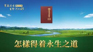 福音電影《寶座流出生命河的水》精彩片段:怎樣得著永生之道