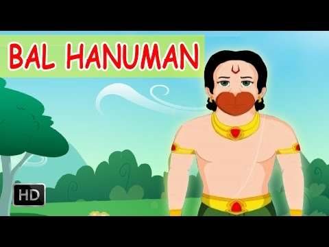 Bal Hanuman - Childhood Of Lord Hanuman - Animated Stories for Kids