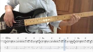 San Francisco - Scott McKenzie Bass Cover 연주 & Backing Track (Bass Tab악보)