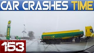 Dashcam Accidents Compilation - Best of the Week - Episode #153 HD