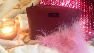 Unboxing Ipsy Glam Bag Cosmetics October Make Up  Subscription, ASMR Whispers, Chewing Gum