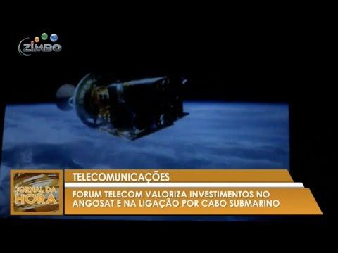 Telecomunicações: AngoSat 1 e Angola Cables estarão em funcionamento até ao final deste ano