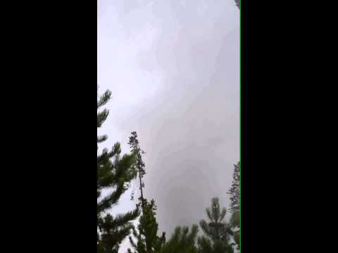Yellowstone geysers & hot springs (part 7) - Steamboat Geyser eruption (31 July 2013)