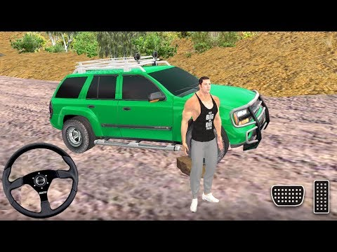 Offroad Jeep Prado Driver Simulator - Luxury 4x4 SUV And Truck Driving - Android Gameplay