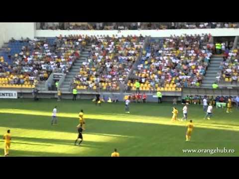 Petrolul - Vitesse 1-1 - Lupii Galbeni in Tribune (1 august 2013*EL)