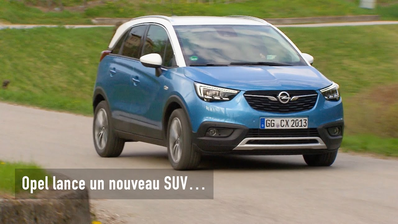 opel crossland x 2017 notre avis sur le concurrent des renault captur et peugeot 2008 youtube. Black Bedroom Furniture Sets. Home Design Ideas