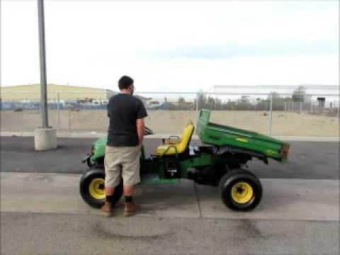 For Sale 2005 John Deere Gator HPX ATV UTV Utility Cart 4x4