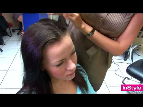 Как покрасить седые волосы народными средствами
