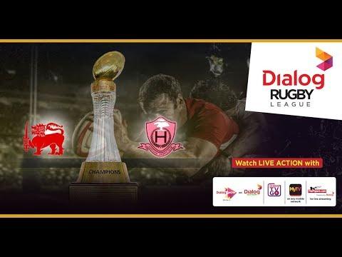 Kandy SC vs Havelock SC - Dialog Rugby League 2017/18 Match #56 (TMO)