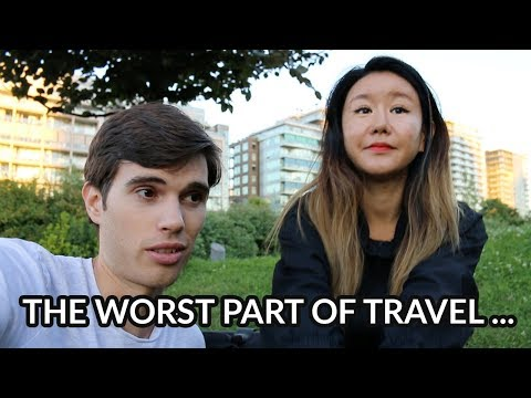 The worst part of travel…