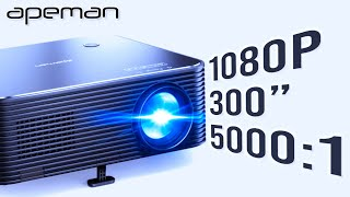 APEMAN LC650  1080P  Best Budget Projector Under £200/$200 | ITS AMAZING!!