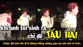 [BTS funny moments #3] Khi anh tôi sinh ra chỉ để TẤU HÀI =)))