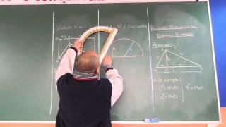 Relaciones Metricas en el Triangulo Rectangulo