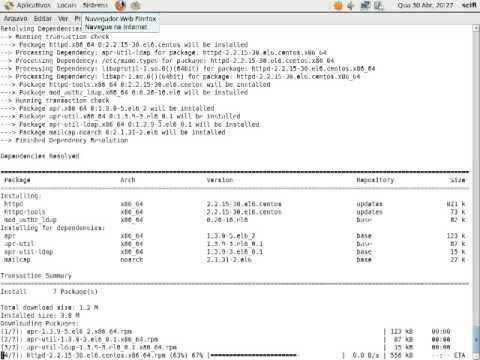 Install SciFi - apache module