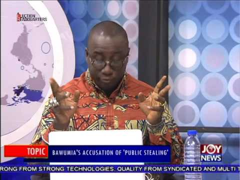 Bawumia's Accusation of Public Stealing - PM Express on Joy News (26-9-16)