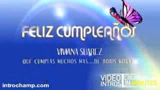 Gambar cover FELIZ CUMPLEAÑOS VIVIANA SUAREZ QUE CUMPLAS MUCHOS MAS MI PANA