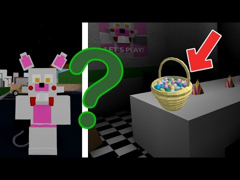 How To Find All The Easter Eggs In Roblox Animatronic World Fnaf