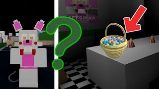 How to find all the EASTER EGGS in Roblox Animatronic world FNAF and badges 2019