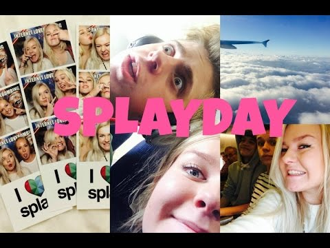 SPLAY DAY I STOCKHOLM - VLOG!