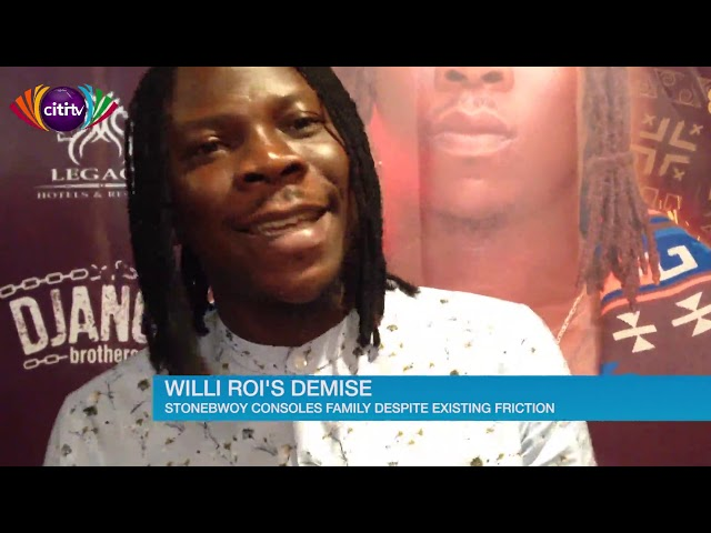 Stonebwoy consoles family of late Willi Roi despite past frictions