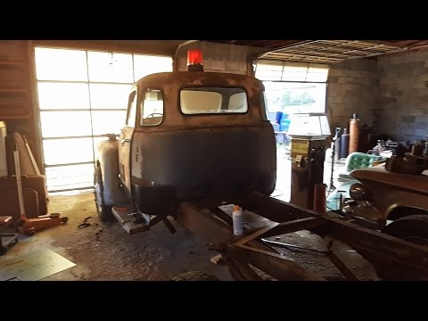 1948 chevy mobil rat rod tow truck build 4