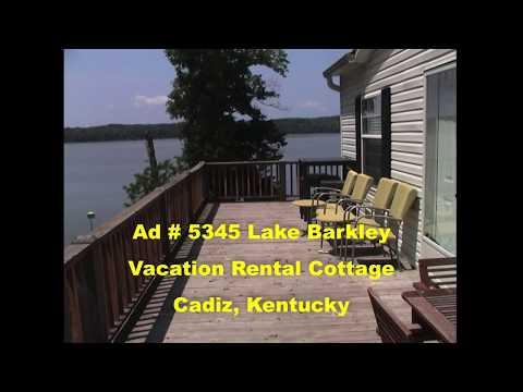 Ad 5345 Lake Barkley Vacation Rental Cottage, Cadiz, Kentucky