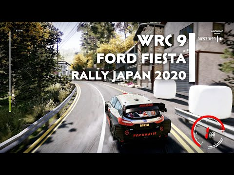 Ford Fiesta WRC | Rally Japan 2020 | WRC 9 FIA WORLD RALLY CHAMPIONSHIP [TPP & FPP] |