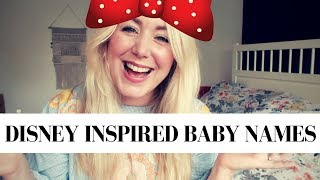 Video TOP DISNEY BABY NAMES FOR GIRLS AND BOYS | SJ STRUM BABY NAME MONDAY download MP3, 3GP, MP4, WEBM, AVI, FLV Agustus 2018