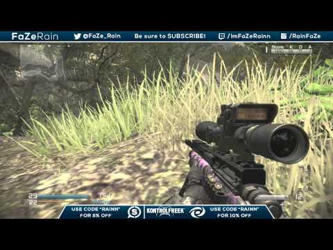 FaZe Rain : FFA TrickShotting Live Commentary Ep.33 (CoD GHOSTS!!)